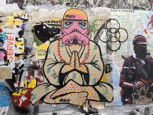Yogic stormtrooper