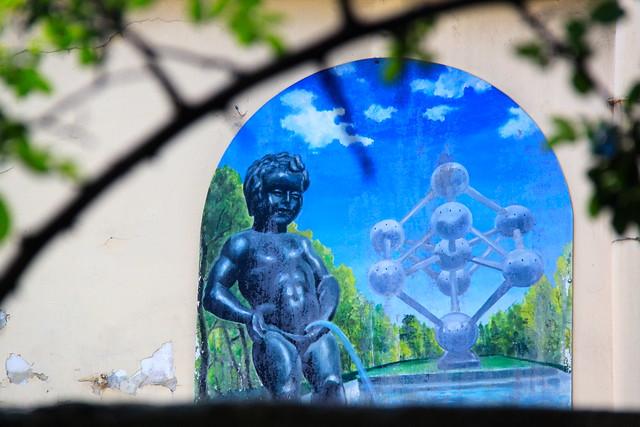 Le jardin des plantes de Montpellier, France