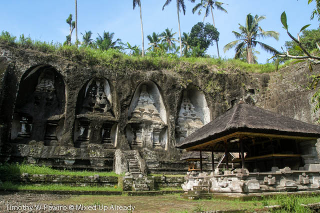 Indonesia - Bali - Candi Gunung Kawi - The temples in the western side