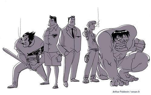Le studio de Grand Theft Auto devient éditeur de comics, par Arthur Poidevin