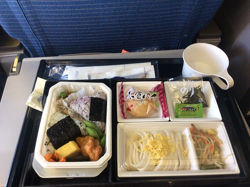 Airline Meal, ANA 767-300 HND-MNL Economy