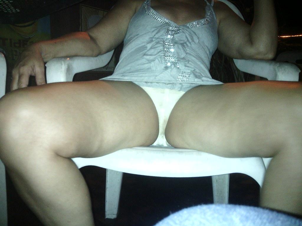 Karaoke panties and breast 6