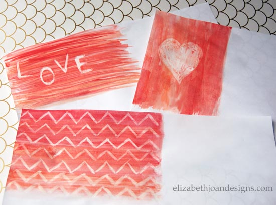Water Color Valentines Art