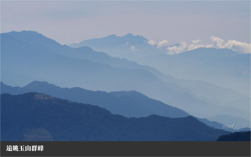 遠眺玉山群峰
