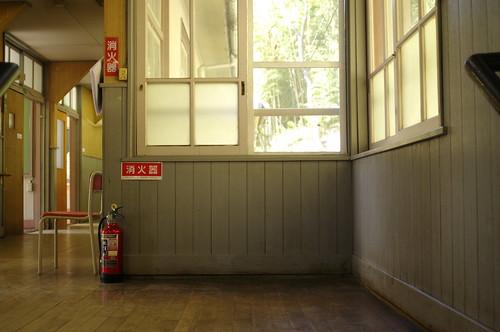 corner of a corridor