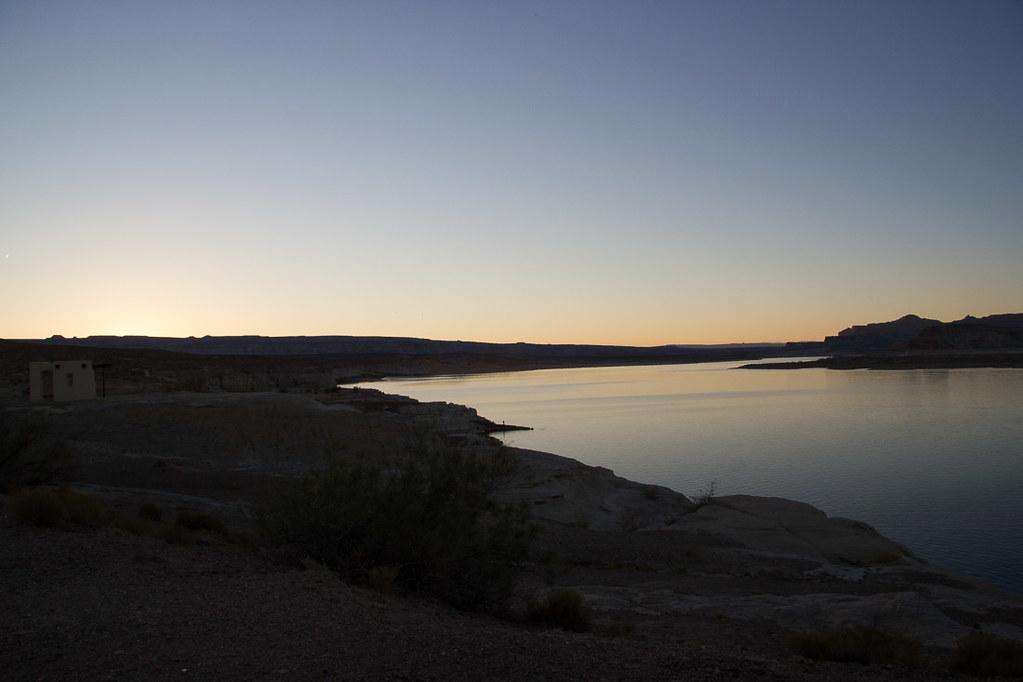 Sunset at Lake Powell