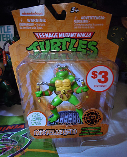 MONOGRAM INTERNATIONAL :: TEENAGE MUTANT NINJA TURTLES; COLLECTIBLE FIGURINES xi / MICHELANGELO (( 2014 ))
