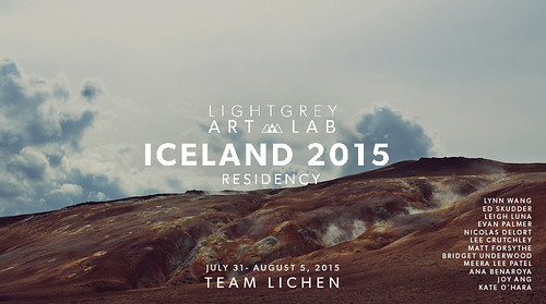 Team Lichen - ICELAND 2015 Residency Program