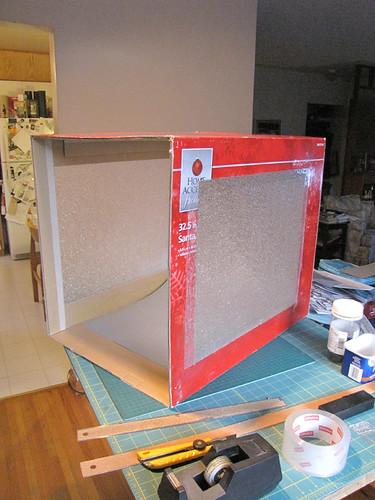 My shooting box - outside