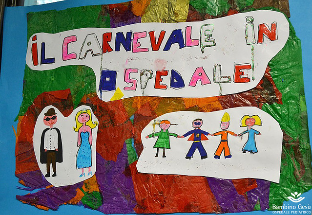 Il Carnevale in ospedale