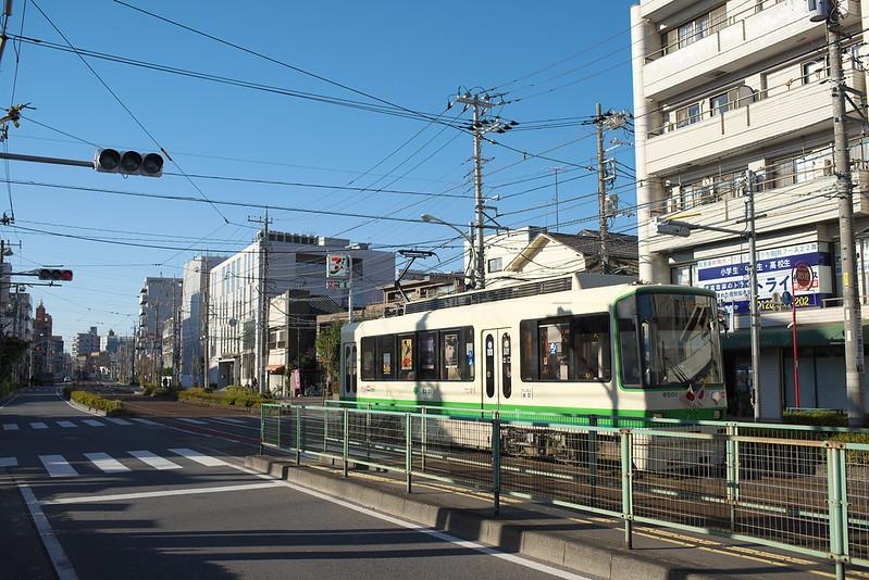 Tokyo Train Story 都電荒川線 2014年12月23日