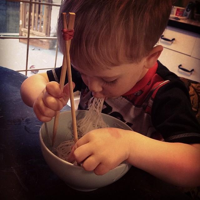 Noodle boy
