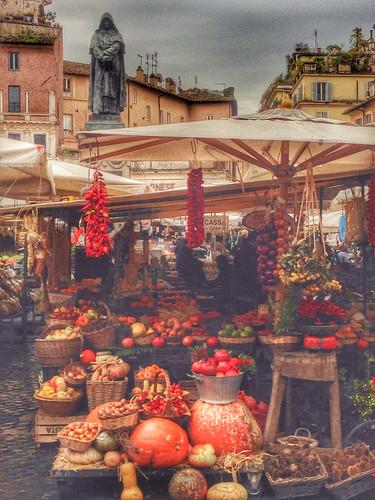 Campo de fiori, Roma