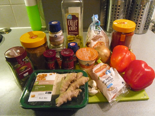 Ingredients Tofu Korma