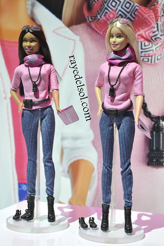 Barbie at Toy Fair 2015
