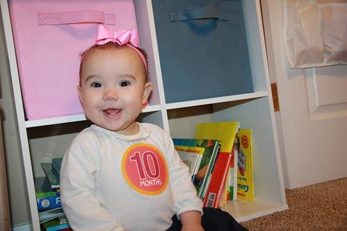 Miranda is 10 Months 2015