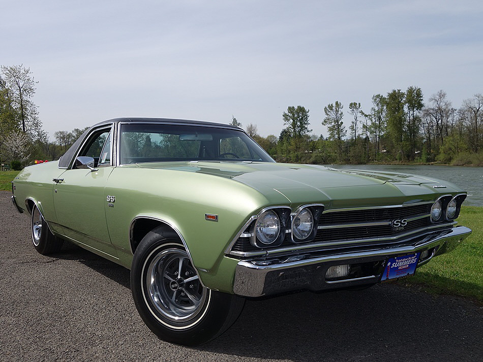 1969 chevrolet el camino ss 396 bring a trailer. Black Bedroom Furniture Sets. Home Design Ideas