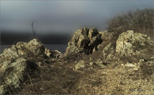 nature landscape island rocks europe ukraine artphotography khortytsya