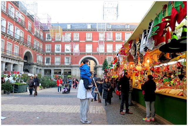 Calles de Madrid: ambiente prenavideño