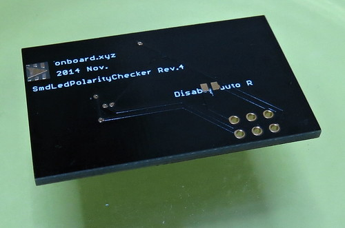 LED CHECKER GOLD v4