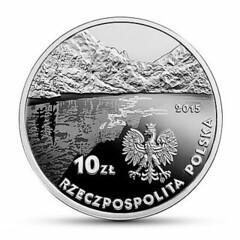 Poland coin on Kazimierz Perzerwa-Tetmajer reverse