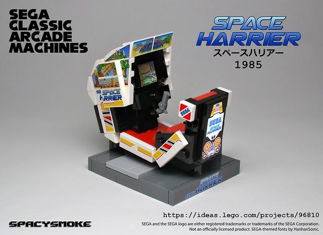 MOC] Sega Classic Arcade Machines - LEGO Town - Eurobricks