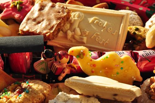 Weihnachtsteller Selbstgebackenes Weihnachtsgebäck Bescherung Backblog Foto Brigitte Stolle