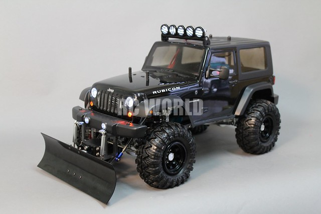 rc axial jeep wrangler rubicon snow plow flickr photo sharing. Black Bedroom Furniture Sets. Home Design Ideas