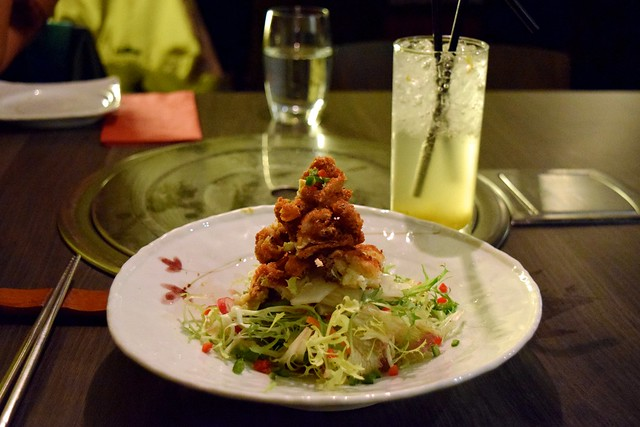 Koba's Soft Shell Crab Salad