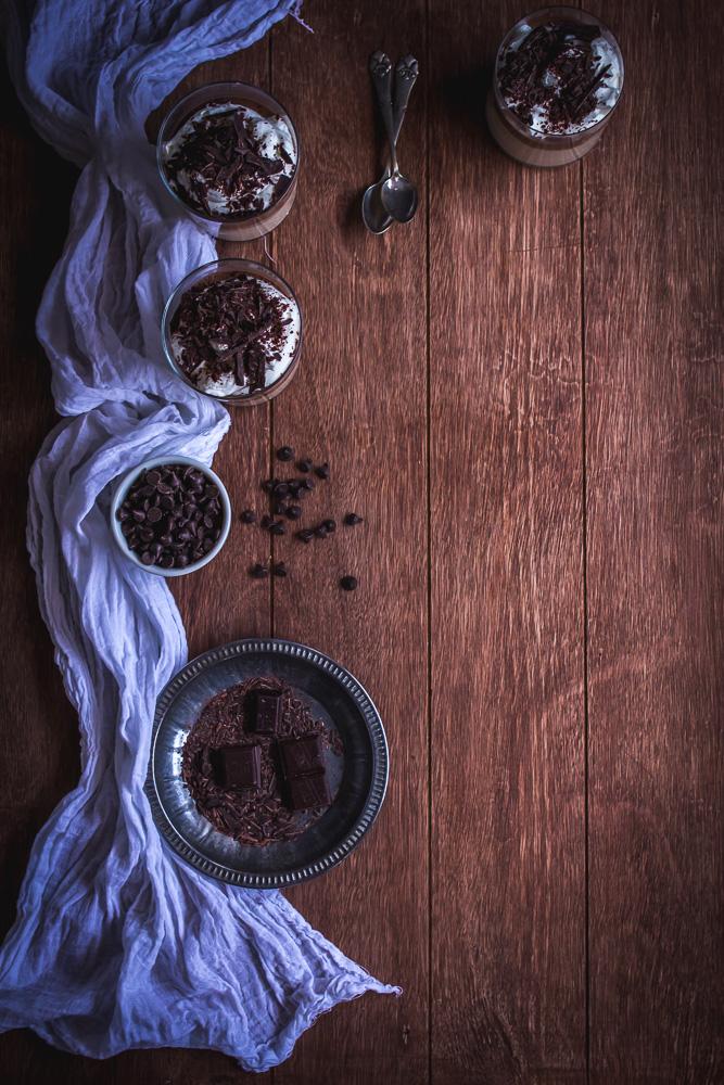 Irish Coffee & Chocolate Panna Cotta