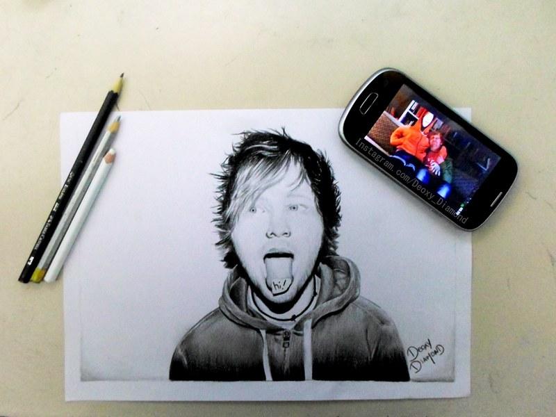 Ed Sheeran fanart