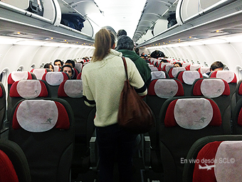LAN A320 nuevos interiores (Martín González)