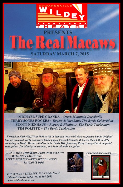 The Real Macaws 3-7-15