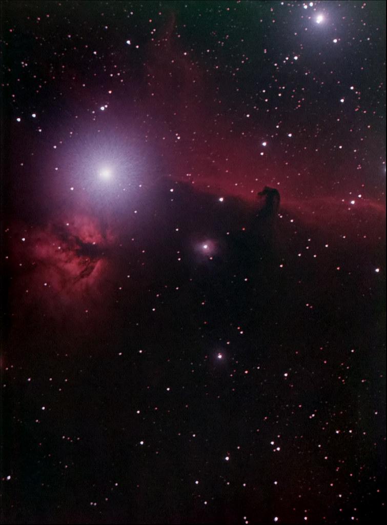 Horsehead Nebula - Light Bucket Challenge