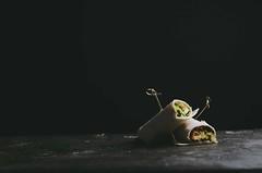 green chickpea salad, pickled black radish and tur…