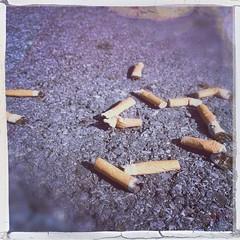 #CigaretteButts #ParkingLot
