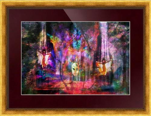 Surrealpete Framed Works