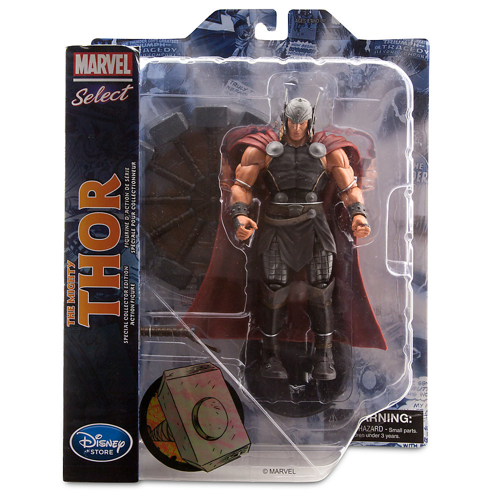 Marvel Select【雷神索爾 Thor】MARVEL NOW!版本 迪士尼商店限定 轉吧!轉吧!妙爾尼爾