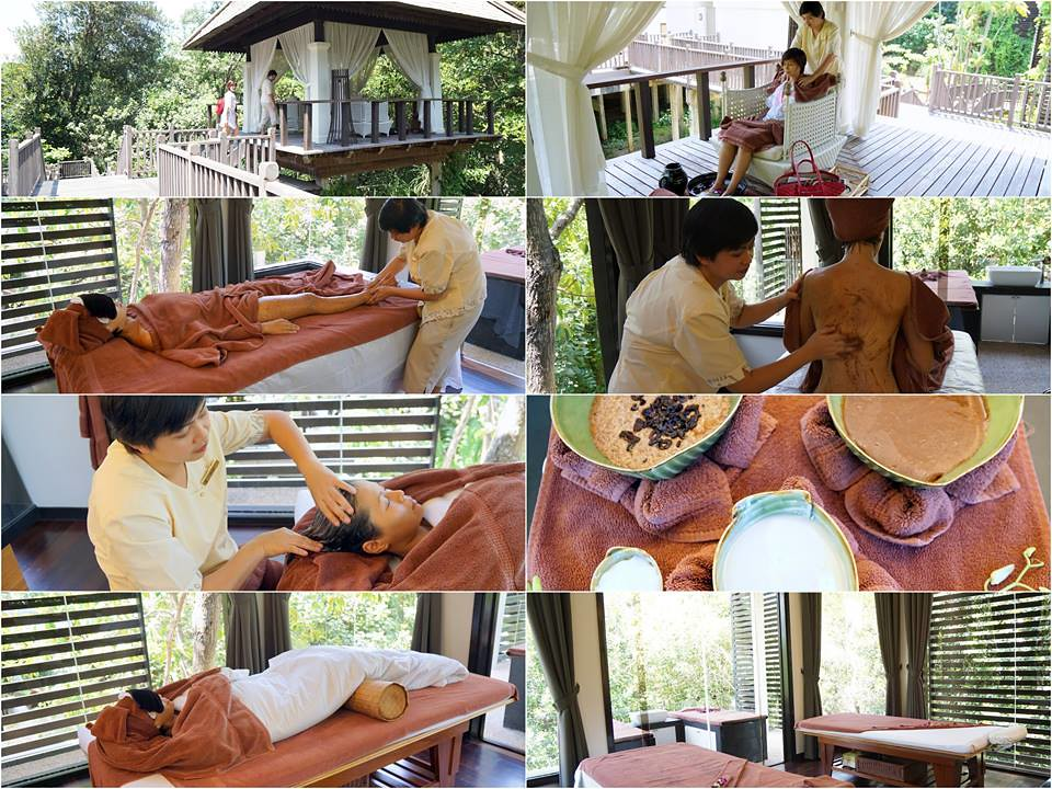 gaya island resort - spa village - massage