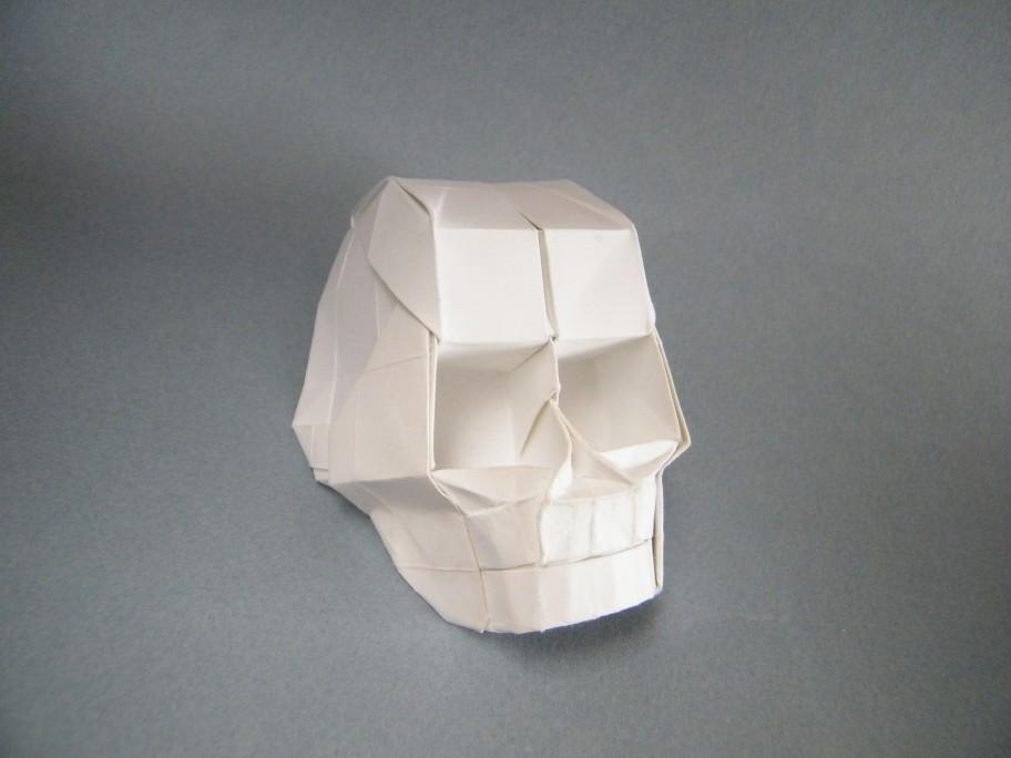 Skull With 3D Eye Sockets