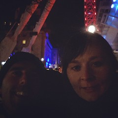 ... and finished the night with a st/roll on the Southbank with this beautiful young lady :-) #happymondays