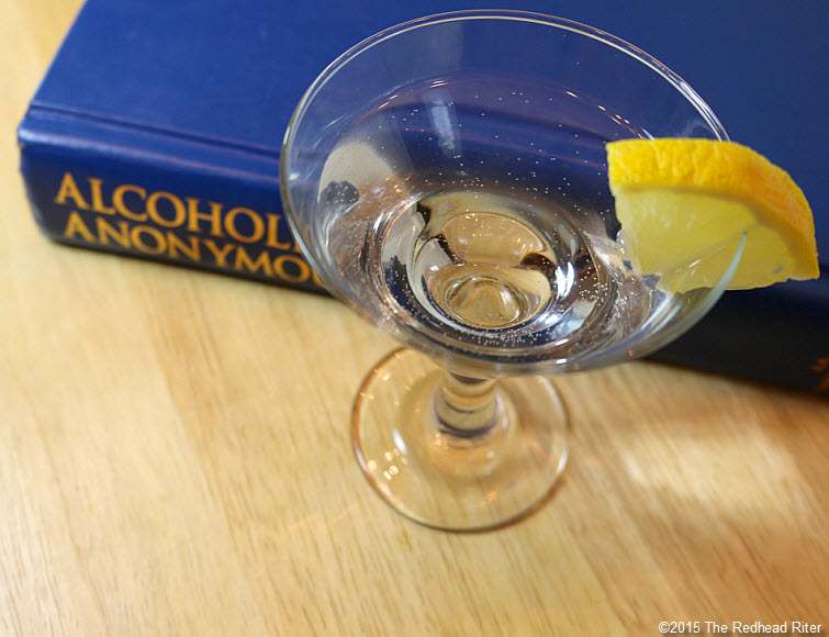 alcoholic drink and alcoholic anonymous book