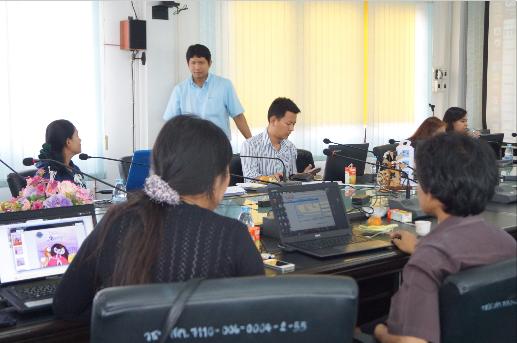 """อบรม """"สร้าง e-book เพื่อใช้ในการเรียนการสอน"""" 10-11 กุมภาพันธ์ 2558"""