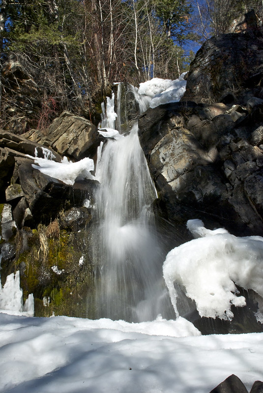 Waterfall at Dog Lake