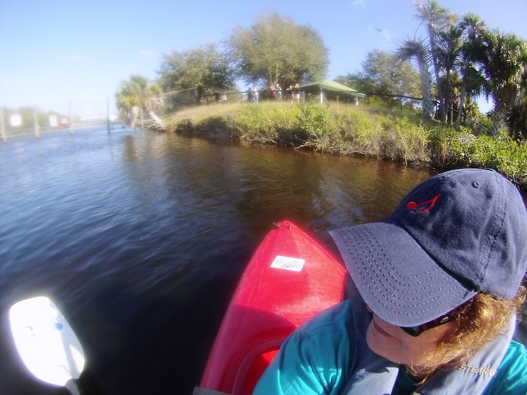 GoPro #Selfie! Kayaking Manatee Park, Fla., Feb. 22, 2015