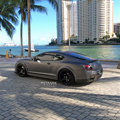 Strasse Wheels Onyx Widebody Bentley GT By Amazing Autoworks
