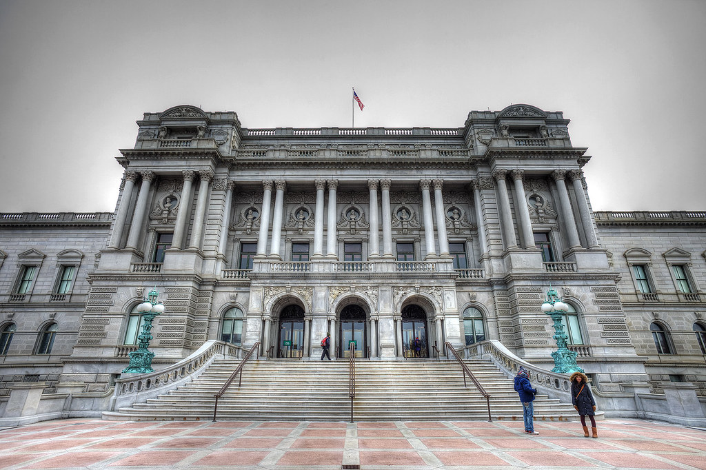 Jefferson Building, Library of Congress, Washington DC