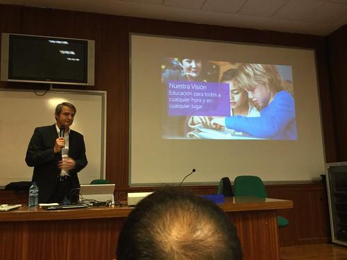 Juan Ramón Alegret, director de Educación de Microsoft Ibérica