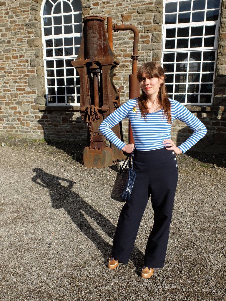 Swing Trousers and Sailor Stripes for St Davids Day