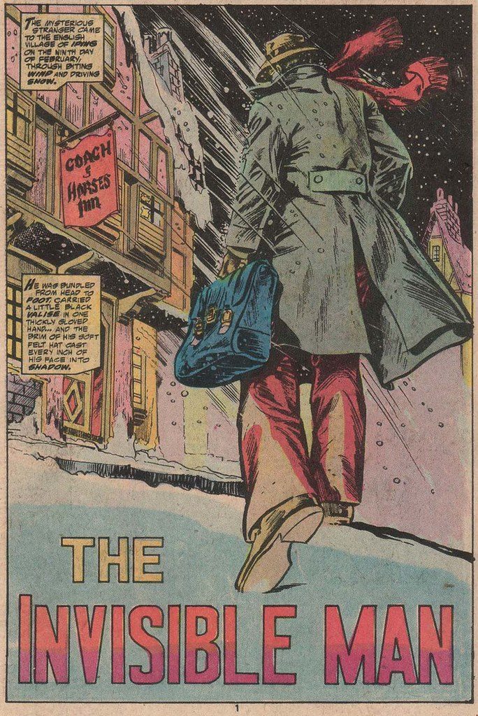 Marvel Classics Comics #25 title page
